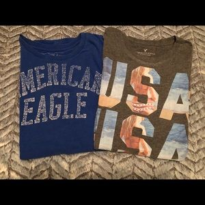 American Eagle Mens Graphic Tees Lot Size Small